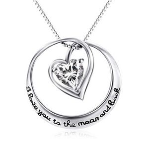 boutique Jewelry - ☀️I love you to the moon & back Necklace